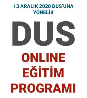 DUS Online Eğitim Programı